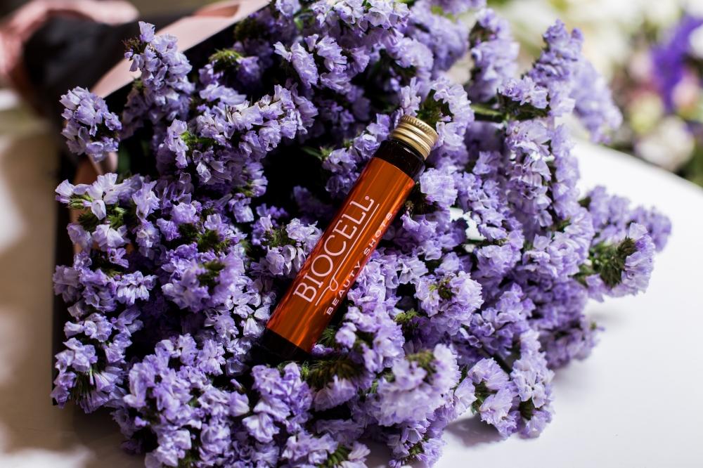 BIOCELL Beauty Shots, geriamas kolagenas su vitaminais ir mineralais odai, plaukams, nagams