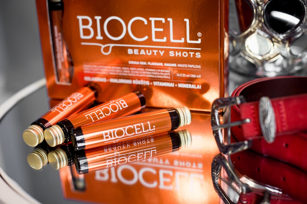 BIOCELL Beauty Shots, odai/plaukams/nagams 14x25 ml