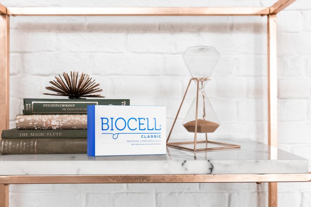 BIOCELL Classic, odai, 40 kapsulių